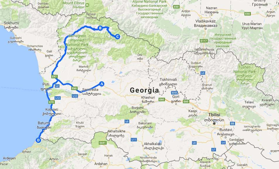 Caucasians_Map